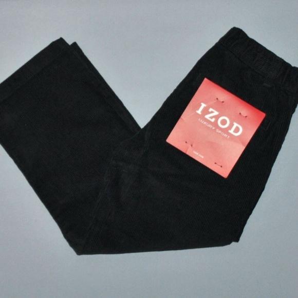 Izod Other - Izod Pants Boy's Size 4 Regular Black Corduroy